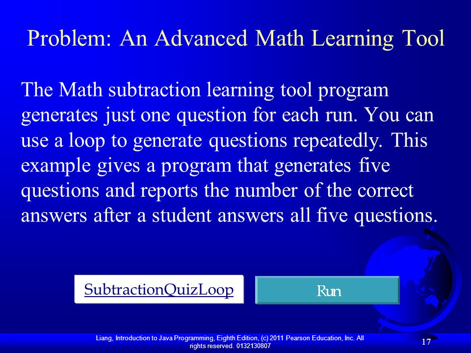 Problem: An Advanced Math Learning Tool