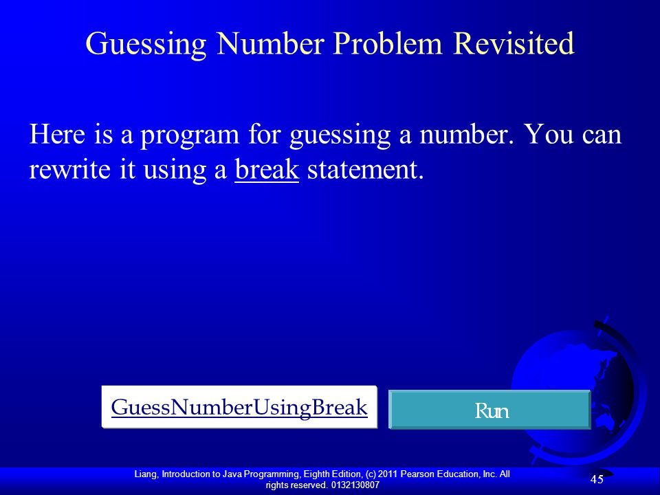 Guessing Number Problem Revisited