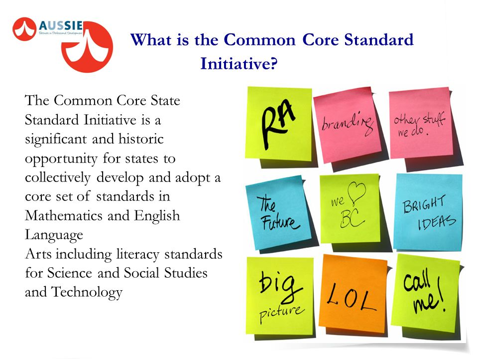 What is the Common Core Standard Initiative