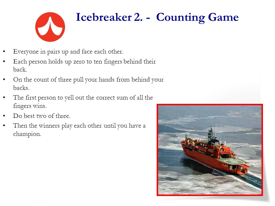 Icebreaker 2. - Counting Game