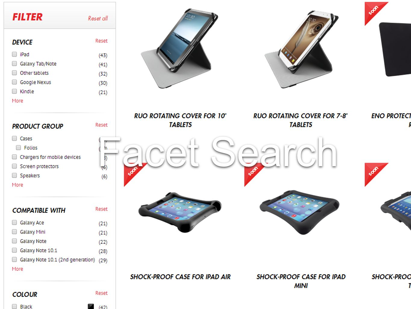 Facet Search
