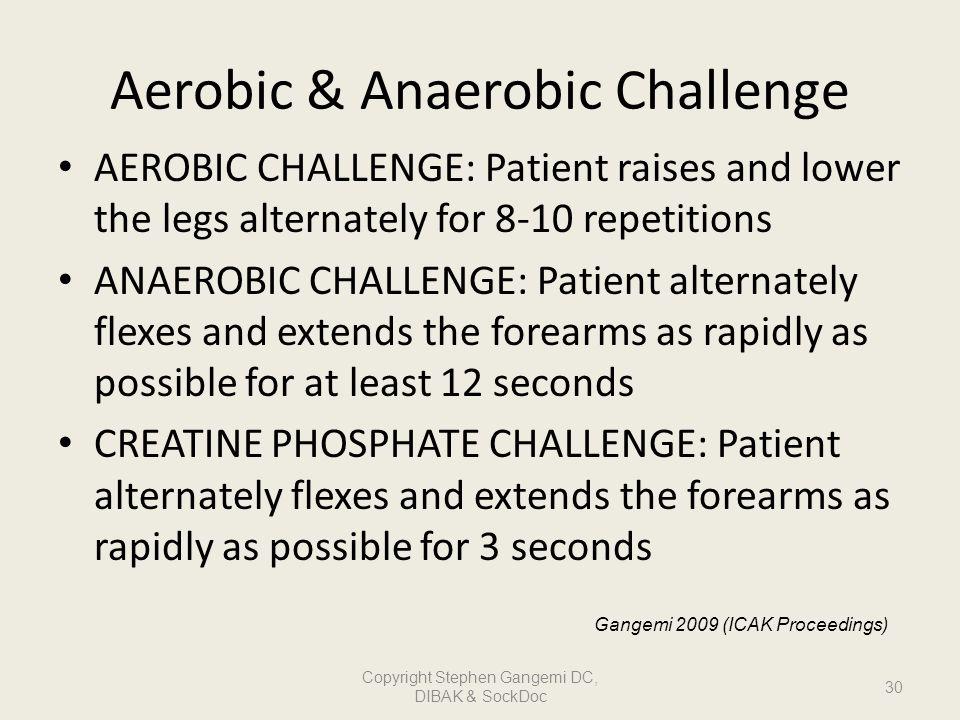 Aerobic & Anaerobic Challenge