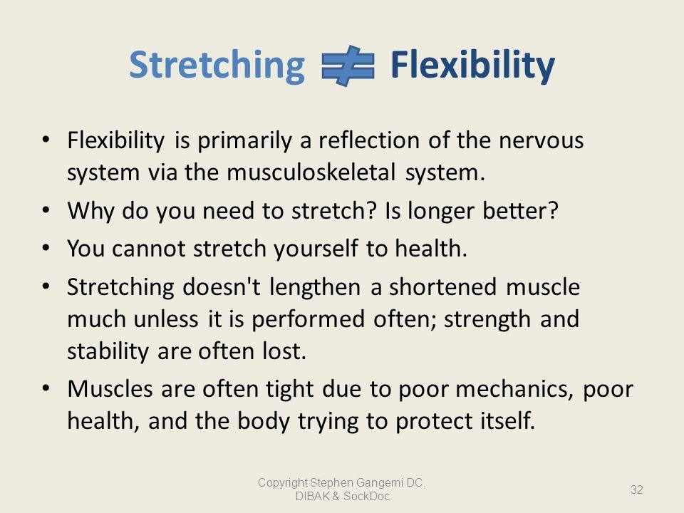 Stretching Flexibility