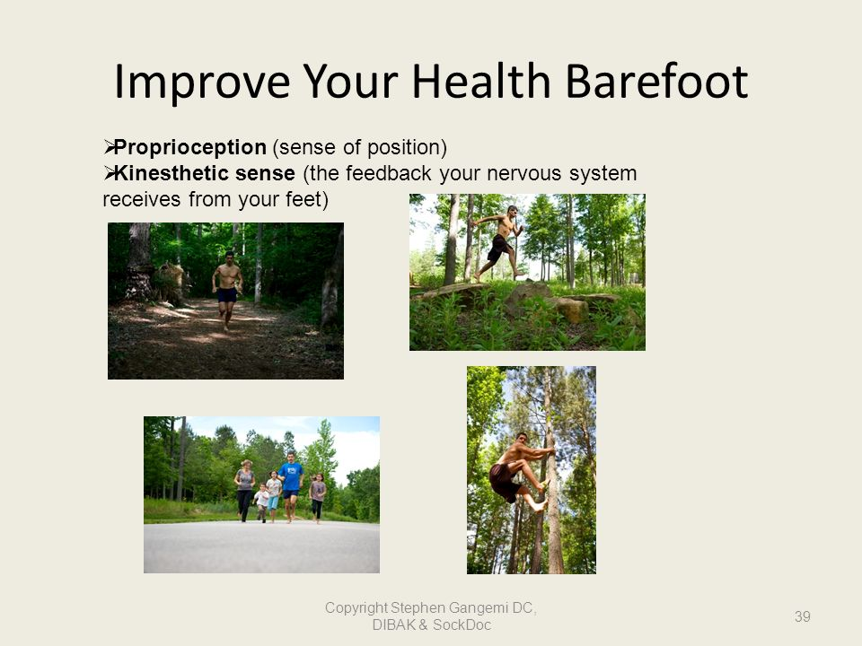 Improve Your Health Barefoot
