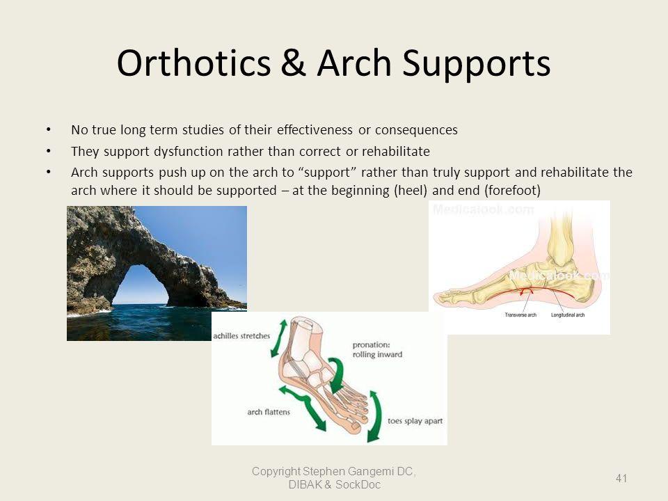 Orthotics & Arch Supports