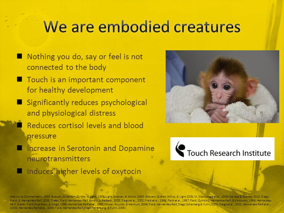 We are embodied creatures