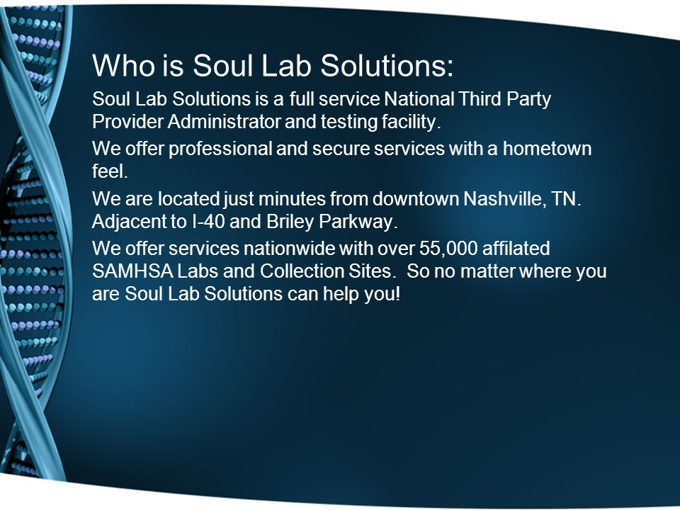 Who is Soul Lab Solutions:
