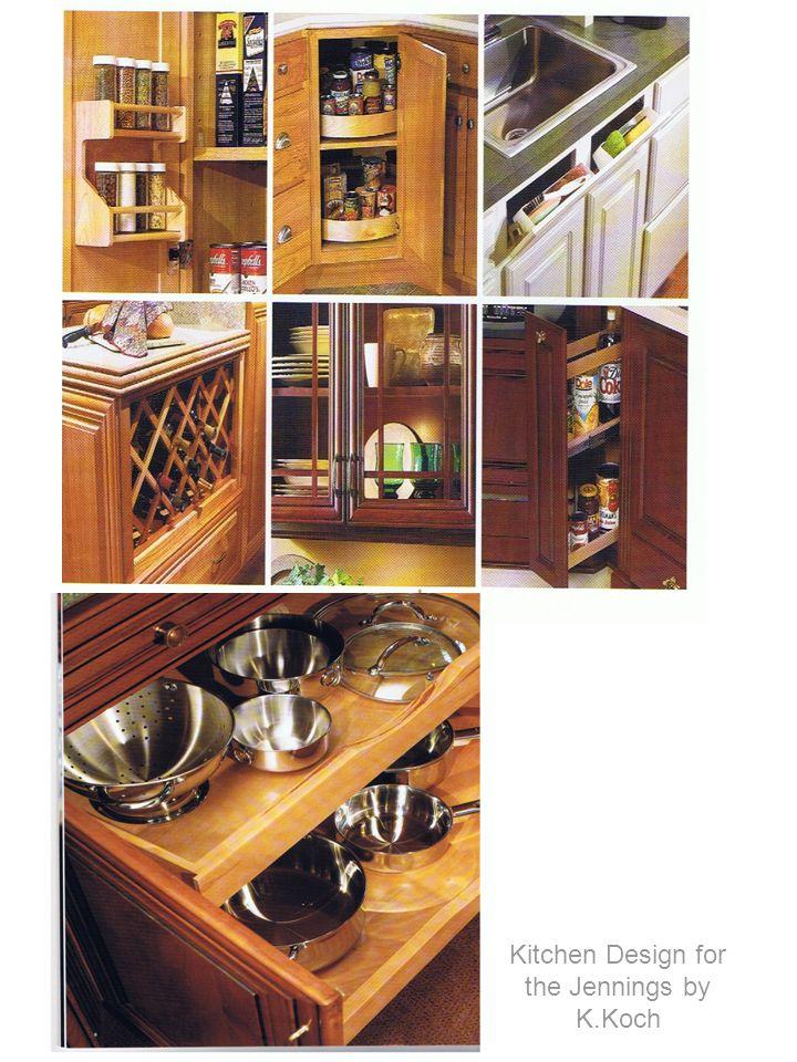 Kitchen Design for the Jennings by K.Koch