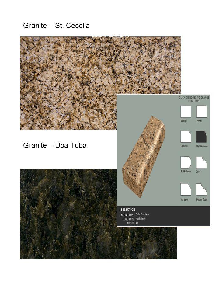 Granite recommendations