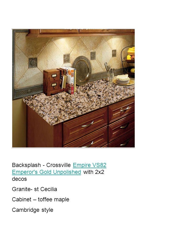 Design mock up – granite/backsplash