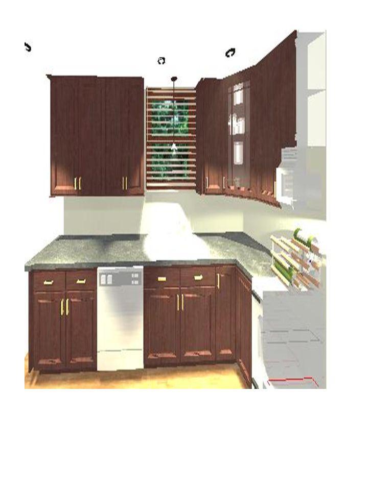 2D rendering sink area