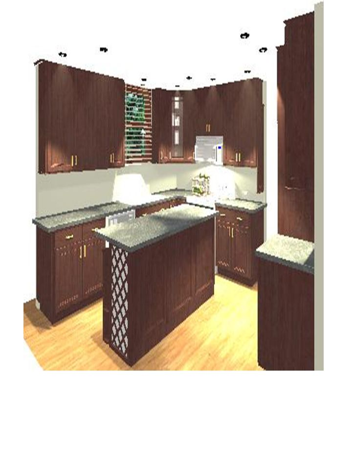 2D rendering island