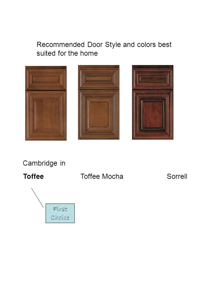 Recommended Door Style and colors best suited for the home
