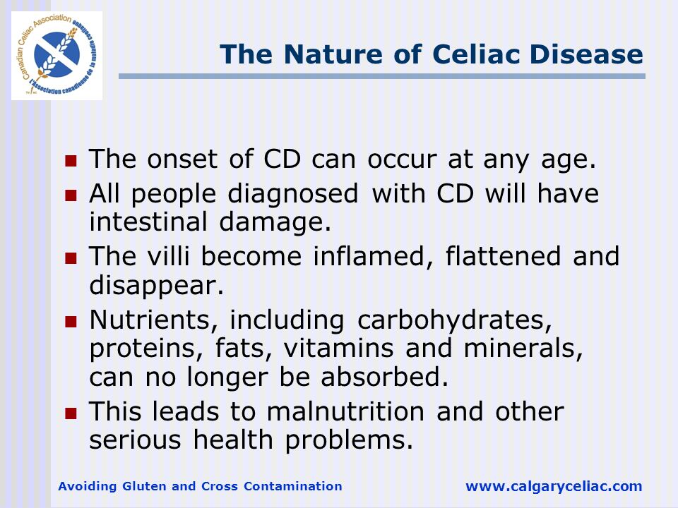 The Nature of Celiac Disease