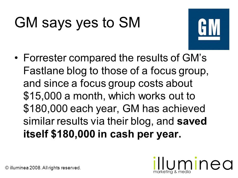 GM says yes to SM