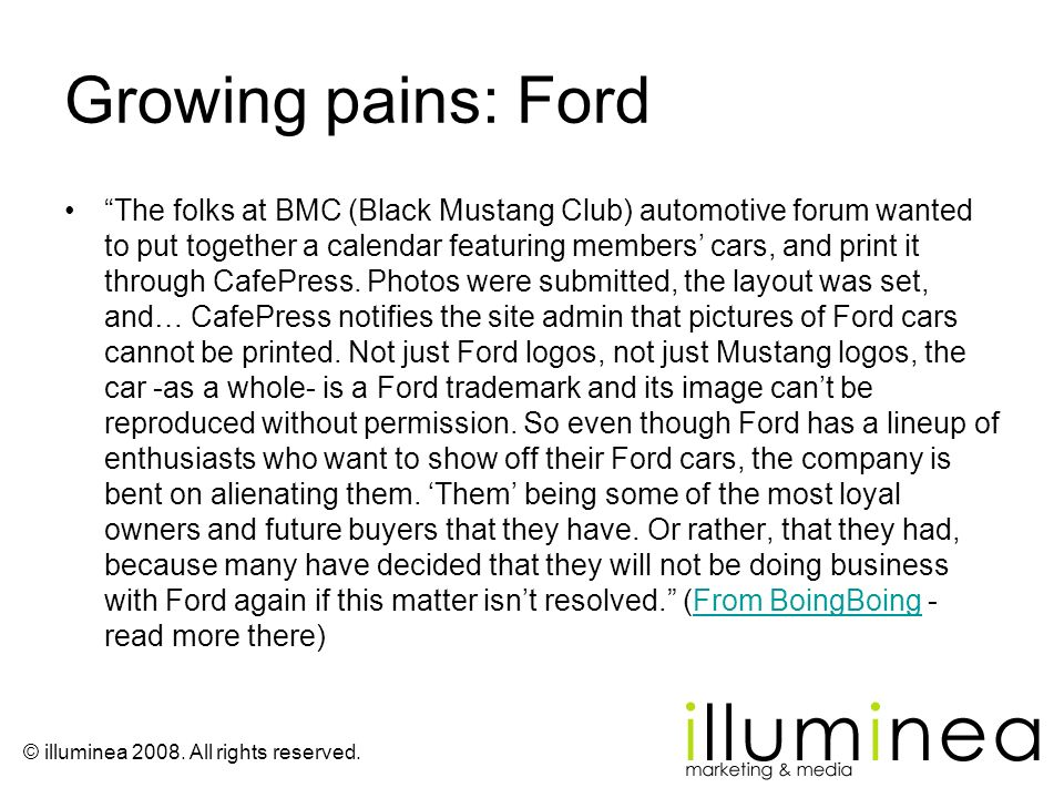 Growing pains: Ford