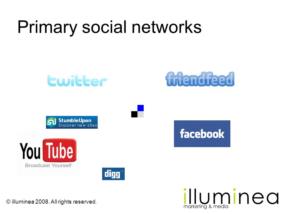 Primary social networks