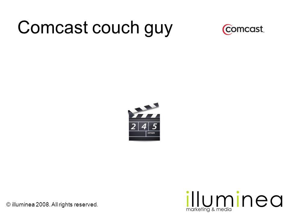 Comcast couch guy