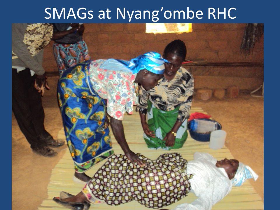 SMAGs at Nyang'ombe RHC