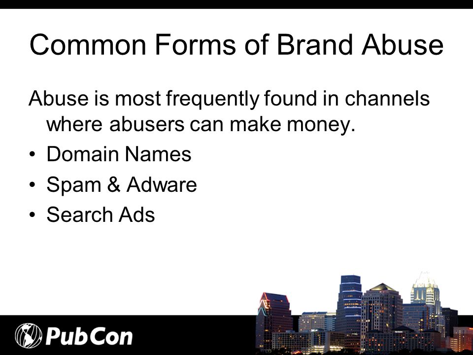 Common Forms of Brand Abuse