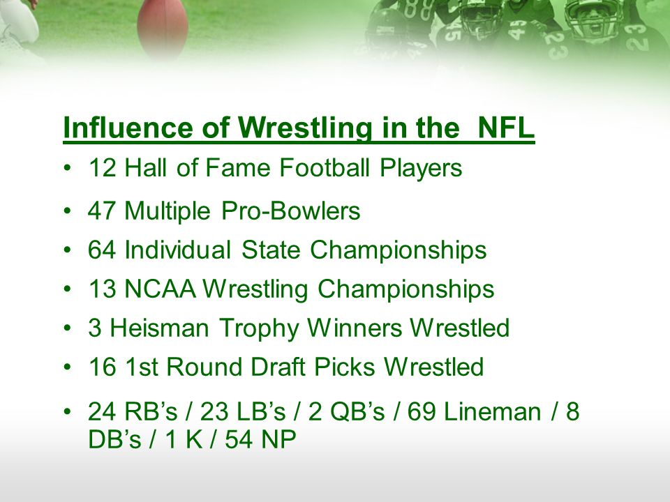 Influence of Wrestling in the NFL