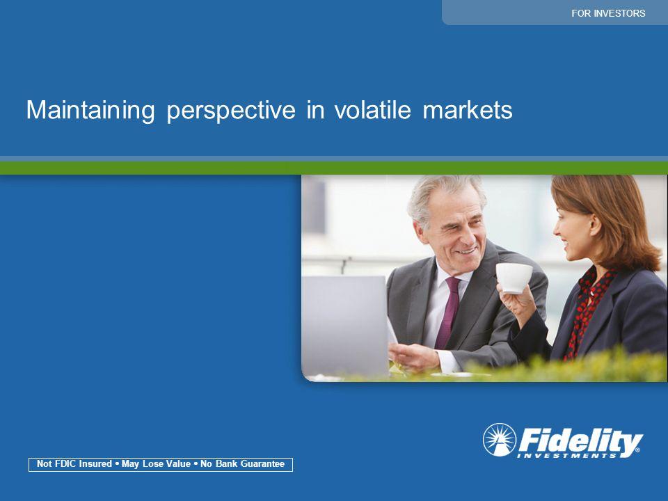 Not FDIC Insured  May Lose Value  No Bank Guarantee
