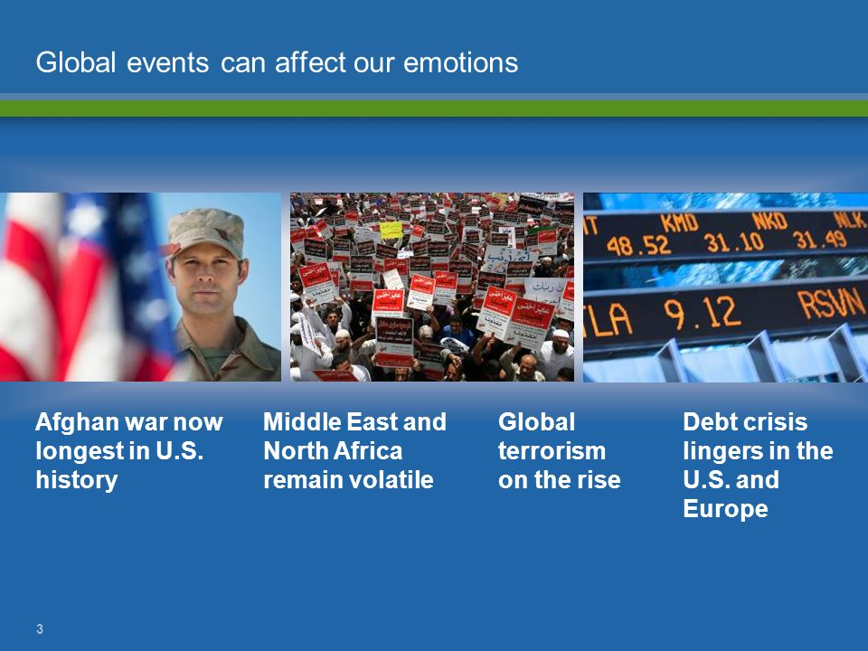 Global events can affect our emotions