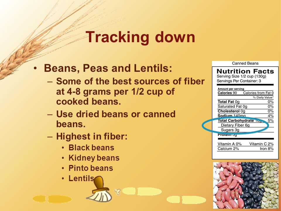 Tracking down Beans, Peas and Lentils: