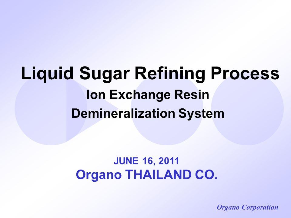 Liquid Sugar Refining Process