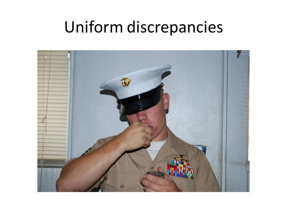Uniform discrepancies