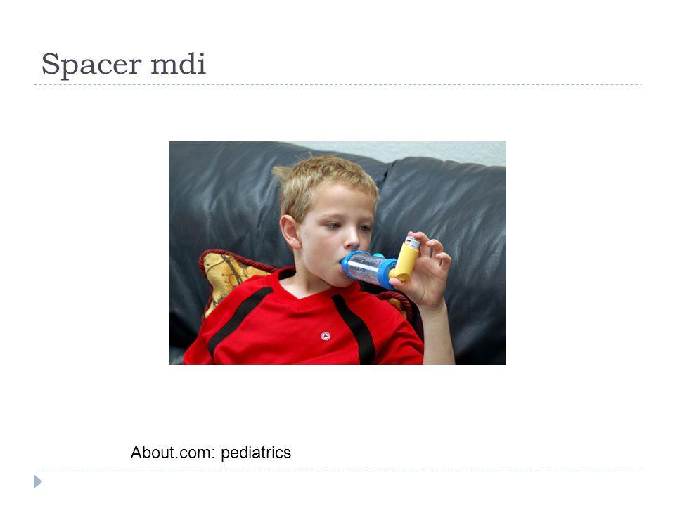 Spacer mdi About.com: pediatrics