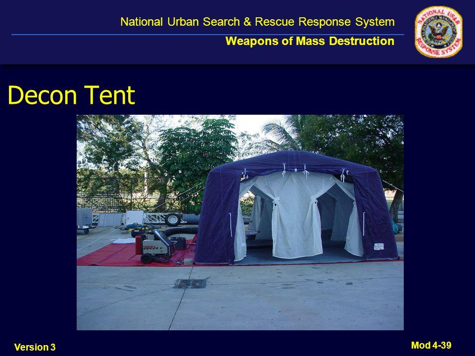 Decon Tent