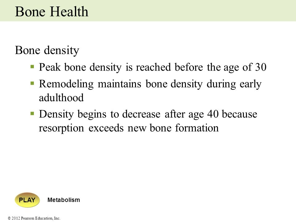 Bone Health Bone density