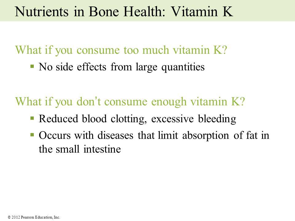 Nutrients in Bone Health: Vitamin K