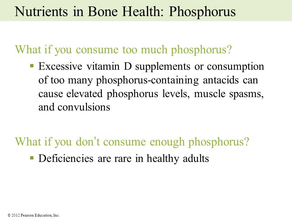 Nutrients in Bone Health: Phosphorus