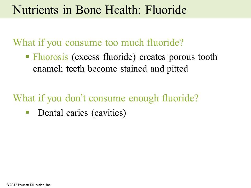 Nutrients in Bone Health: Fluoride
