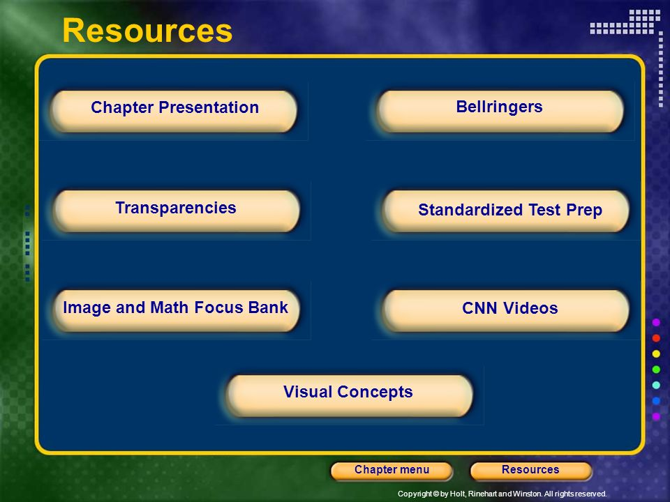 Standardized Test Prep Image and Math Focus Bank