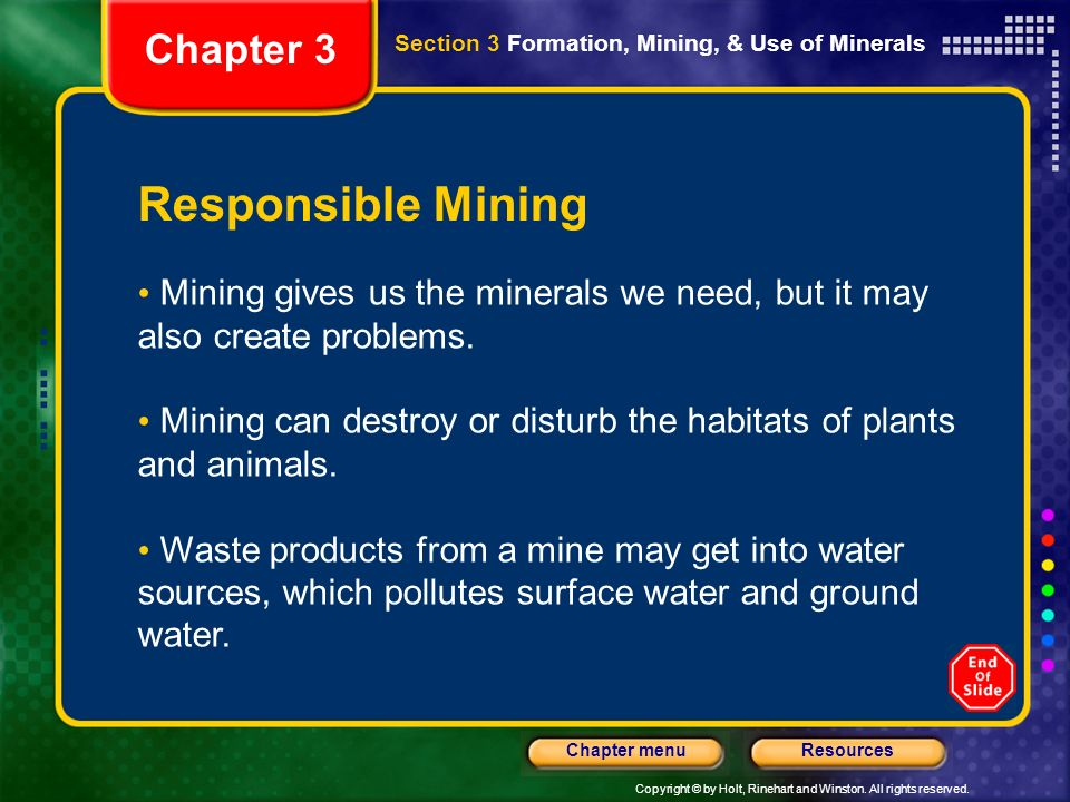 Responsible Mining Chapter 3