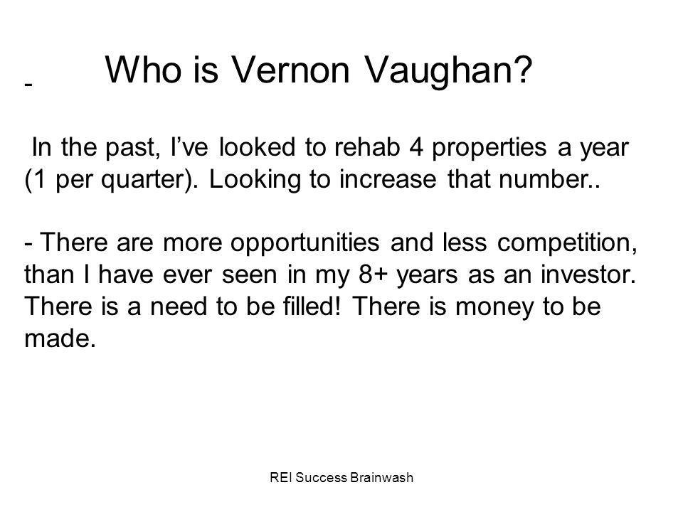 Who is Vernon Vaughan