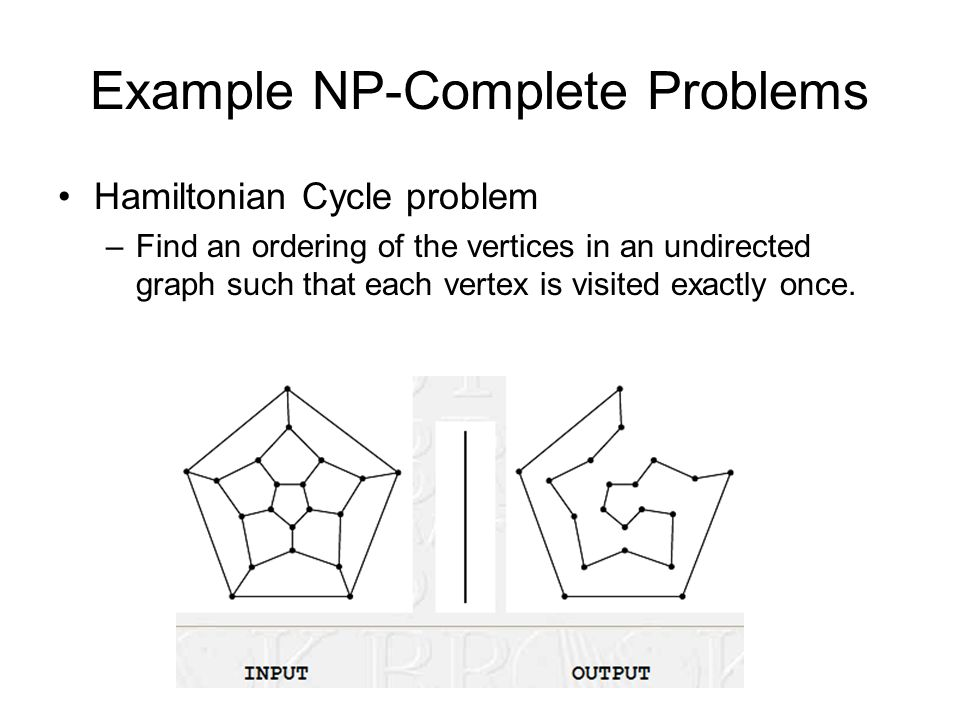 Example NP-Complete Problems