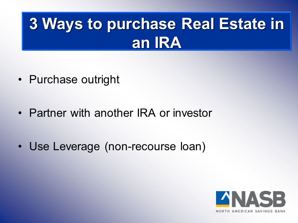 Disqualified Persons: 3 Ways to purchase Real Estate in an IRA