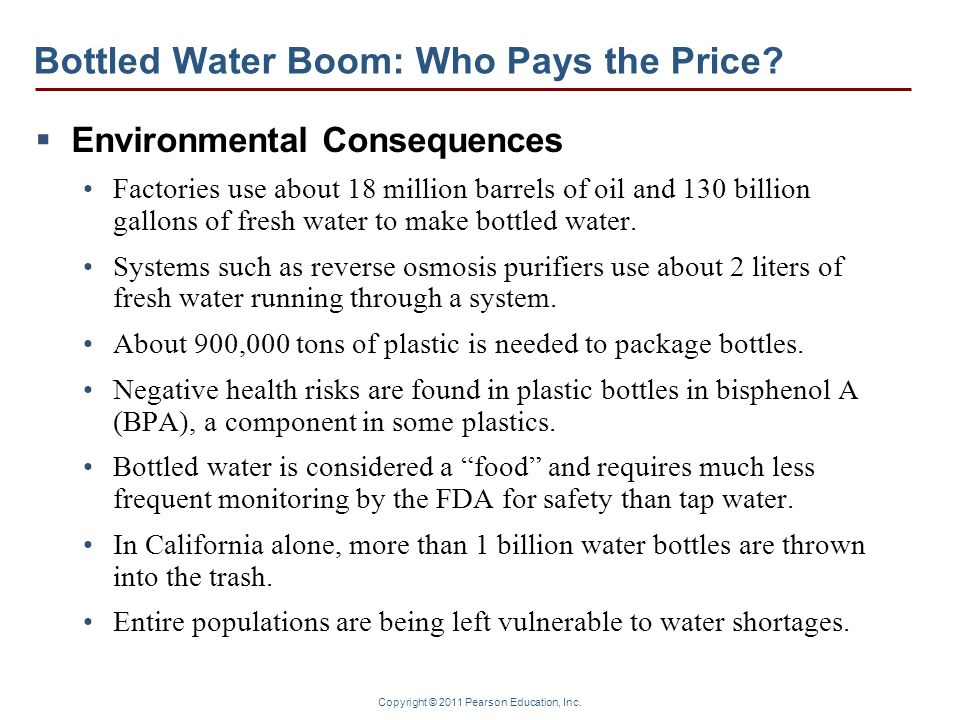 Bottled Water Boom: Who Pays the Price
