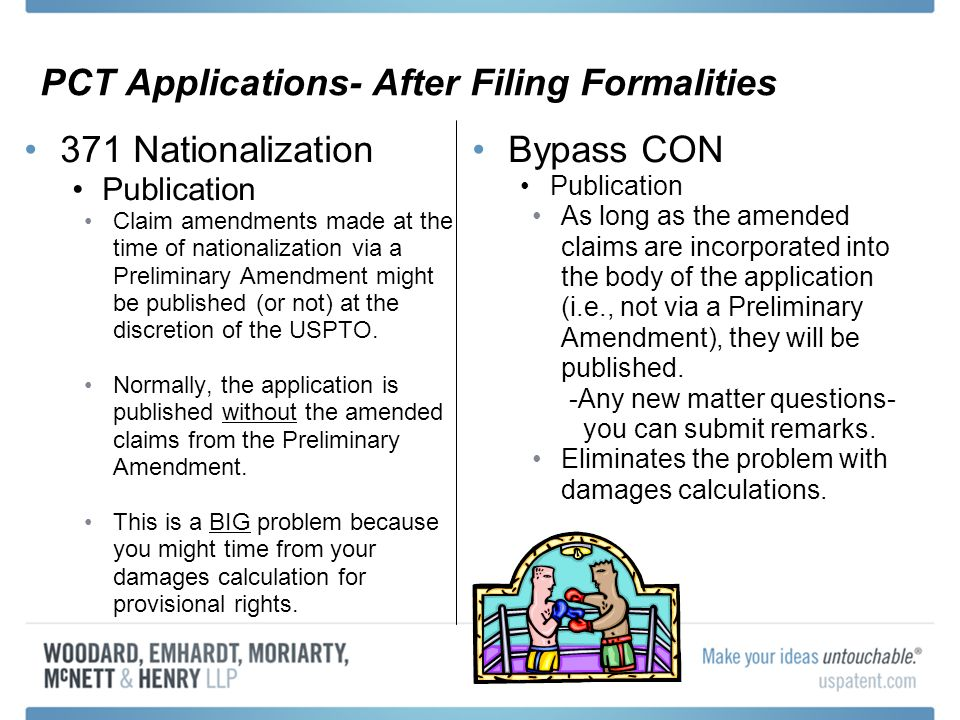 PCT Applications- After Filing Formalities