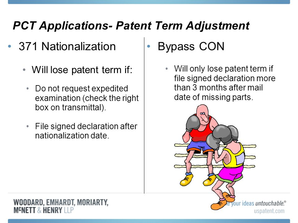 PCT Applications- Patent Term Adjustment