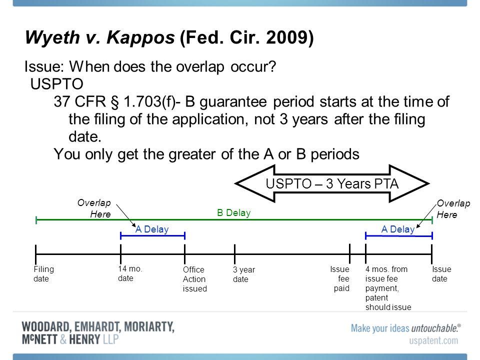 Wyeth v. Kappos (Fed. Cir. 2009)