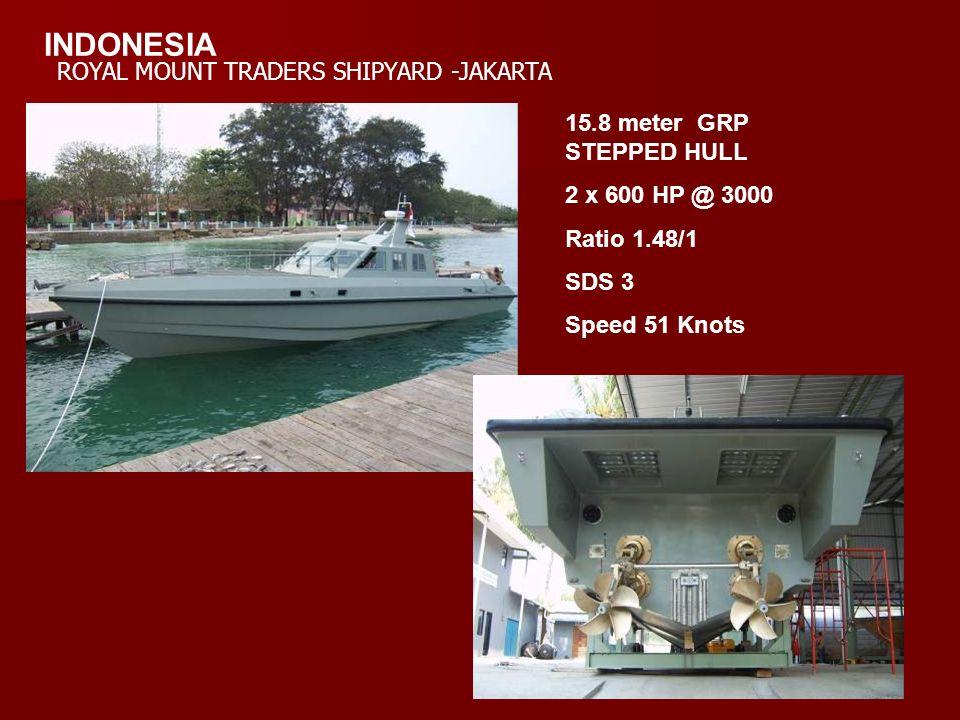 INDONESIA ROYAL MOUNT TRADERS SHIPYARD -JAKARTA