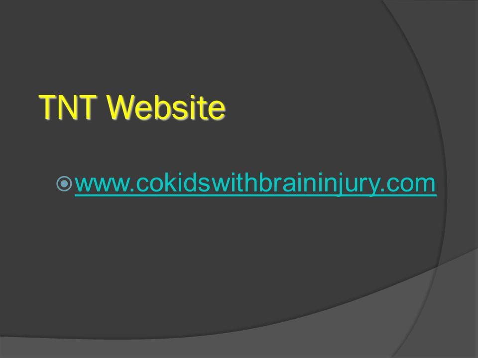 TNT Website www.cokidswithbraininjury.com