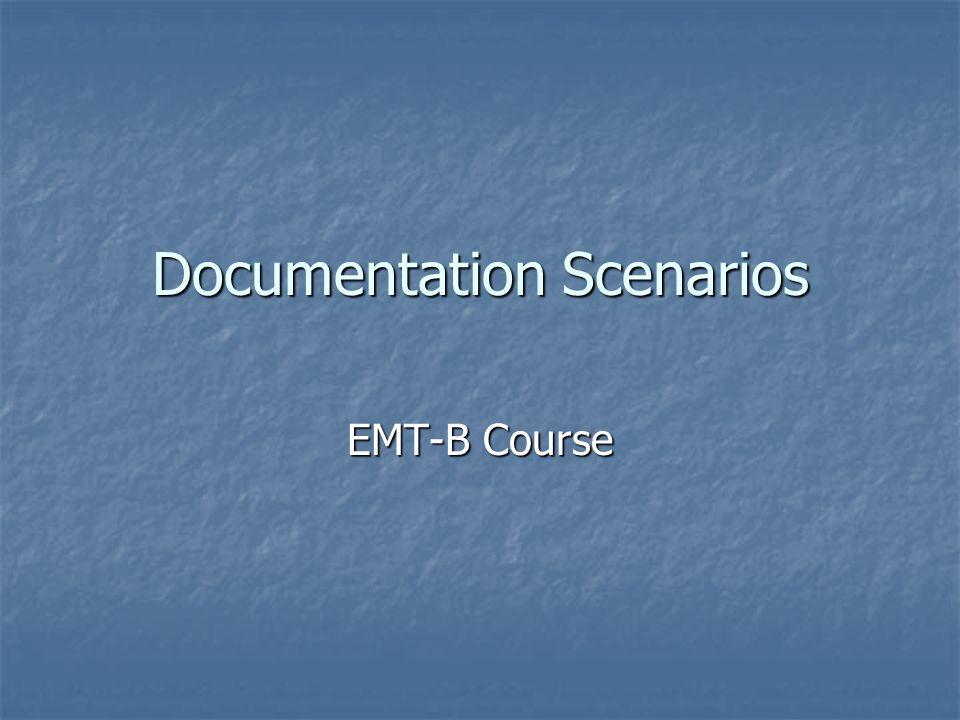 Documentation Scenarios