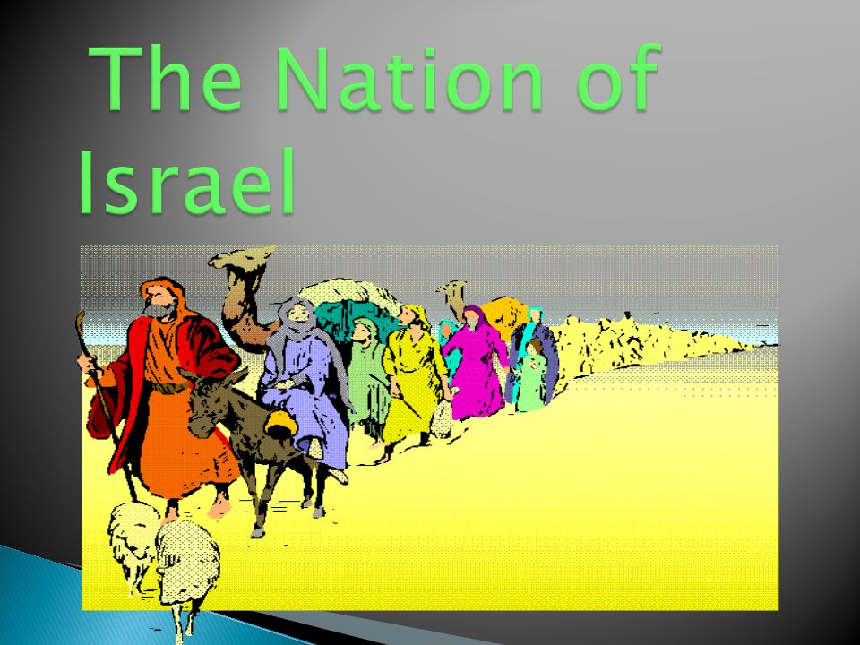 The Nation of Israel