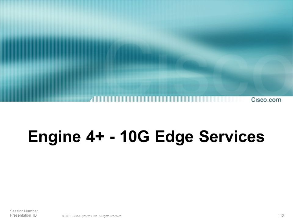 Engine G Edge Services